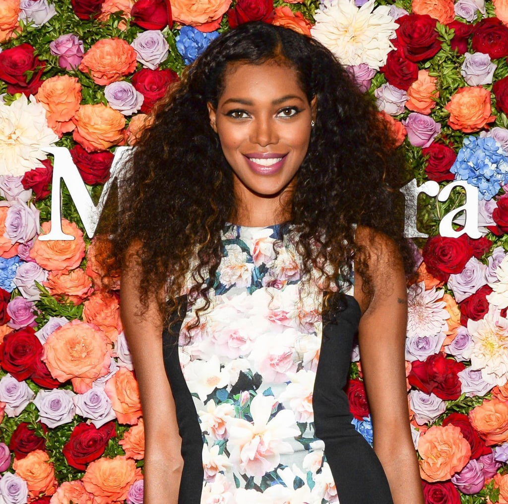 Jessica White tried on one of the biggest trends of the Summer: the braid. She twisted up her bangs and tucked them behind her ear, leaving the rest of her hair in casual waves.