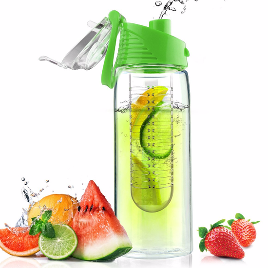 8 Infuser Bottles That'll Take the Effort Out of Drinking Fruit Water