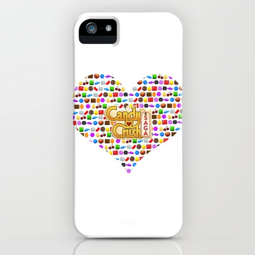 Candy Crush heart case ($35) for iPhone models and Samsung Galaxy S4