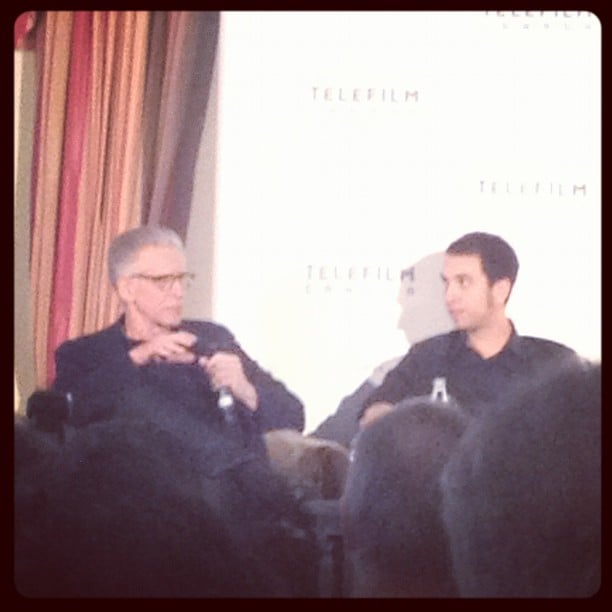 Directors — and father and son —David and Brandon Cronenberg talked about their work, including David's Cosmopolis with Robert Pattinson.