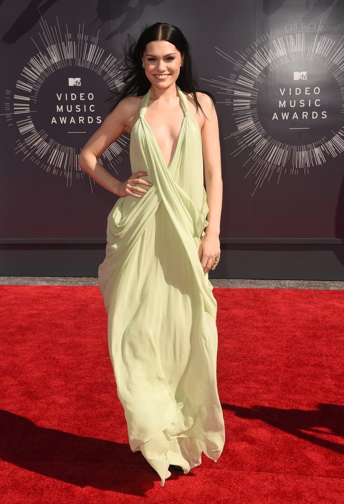 Jessie J at the 2014 MTV VMAs