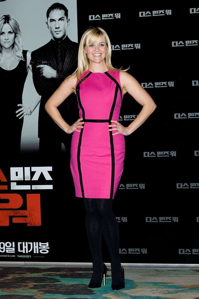 Reese Witherspoon in Michael Kors at 2012 This Means War Korea Event