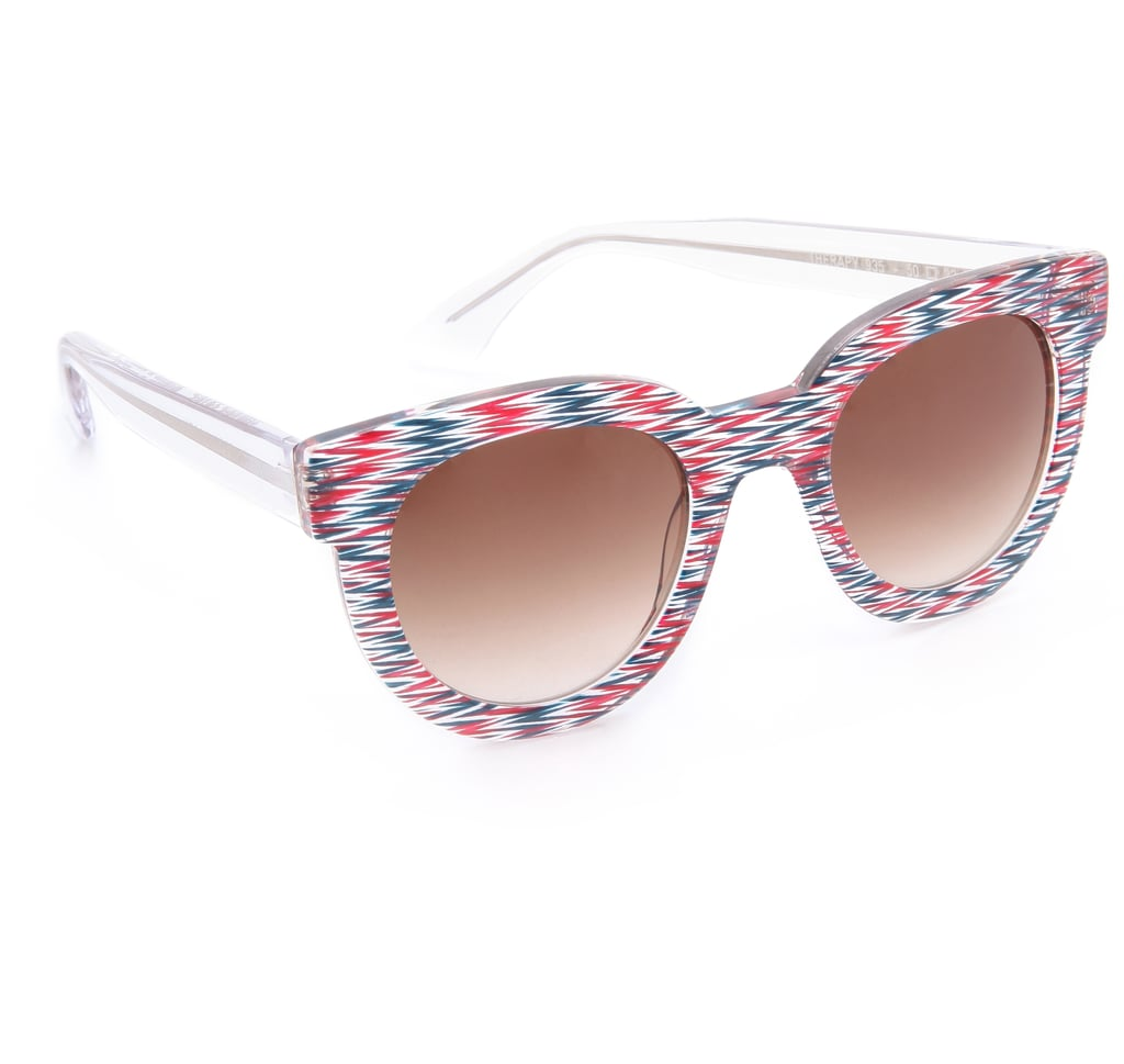 These bold zigzaggy shades by Thierry Lasry ($385) are year-round stunner shades that feel especially appropriate for the Fourth.
