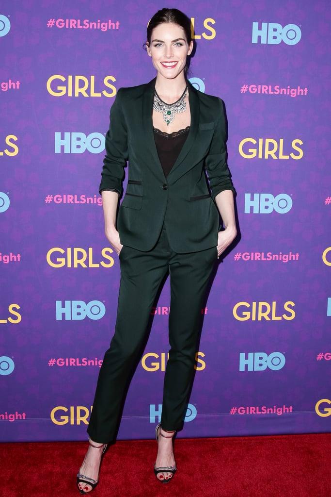 Hilary Rhoda at the Girls premiere.