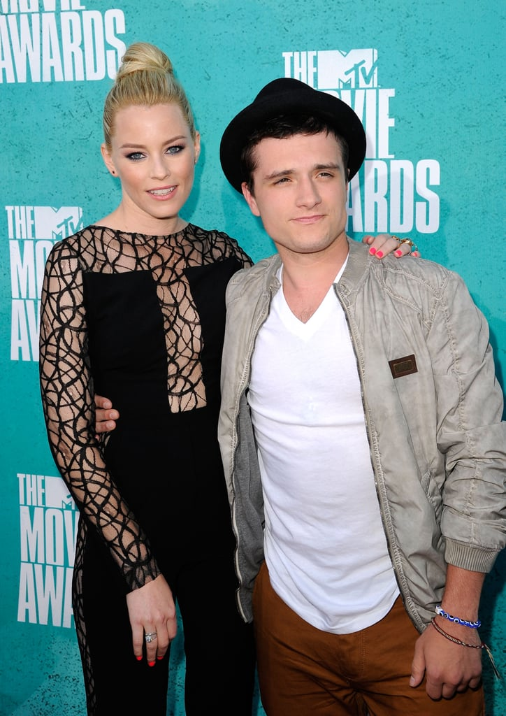 Elizabeth Banks and Josh Hutcherson Have a Hunger Games Reunion For MTV Movie Awards