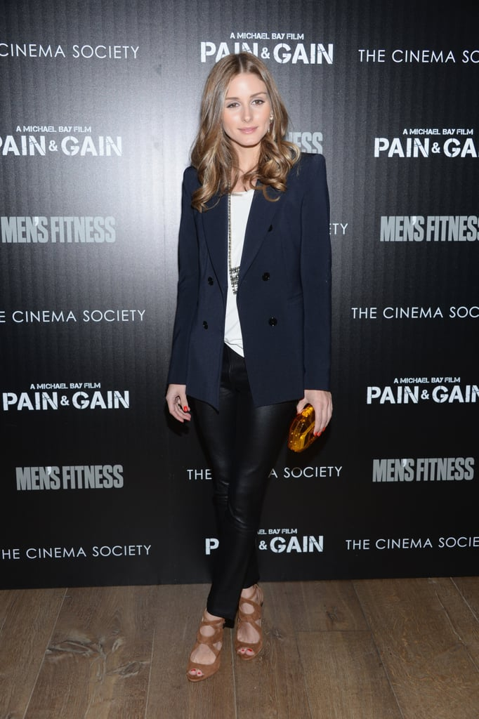Dressed in nearly head-to-toe Zara, Olivia hit the red carpet for a film screening in NYC, and again, proved her expertise in high-low styling.
