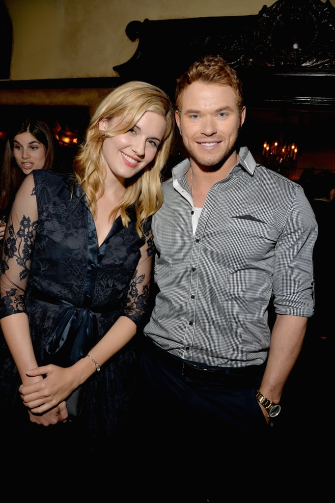 Kellan Lutz and Maggie Grace staged a Twilight reunion.