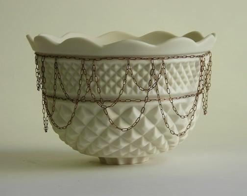 Cool Idea: Edgy Porcelain