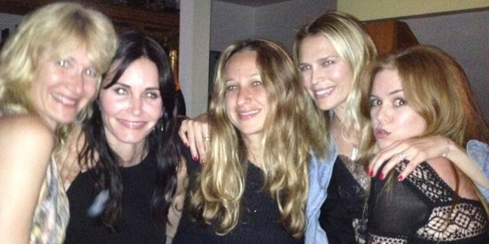 Courteney Cox Dances Through Her Birthday With Busy, Isla, and More
