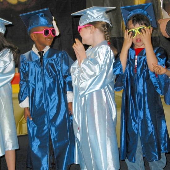 Emotional Preschool Graduation