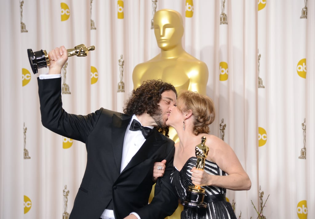 Sean Fine and Andrea Nix Fine each won an Oscar in the best documentary short film category.