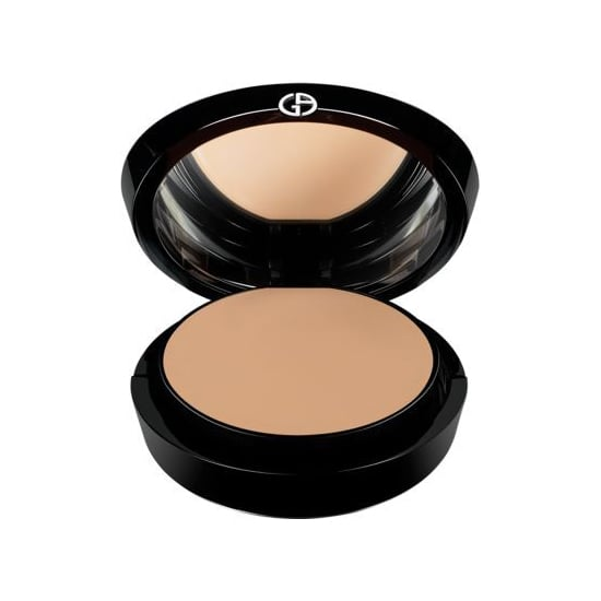 I'm more of a BB cream/tinted moisturizer kind of girl, but sometimes you need a little more oomph for your skin. I'm obsessed with the Armani Beauty Maestro Cream Compact ($64) for its weightless feel, full but not too heavy coverage, and ludicriously luxe packaging. Matching my very pale olive complexion perfectly? It's the cherry on top. — MLG
