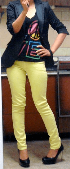 Look of the Day: Yummy in Yellow