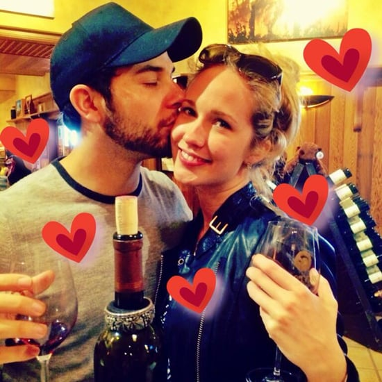 Anna Camp and Skylar Astin Social Media Pictures