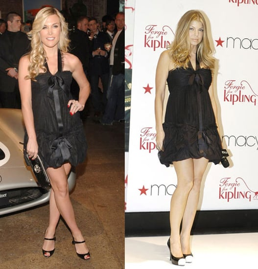 Who Wore It Better? Black Chanel Tie Frock