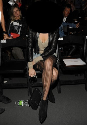 Pictures of Celebrities at 2011 Fashion Week