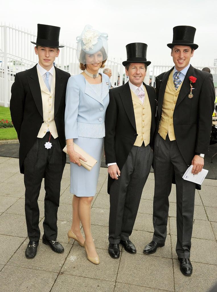 Alexander Warren, Lady Carolyn Warren, Sir John Warren, and Jake Warren attended the event.