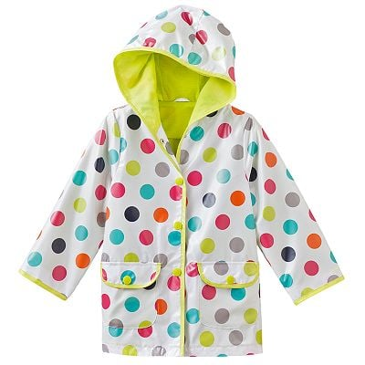 Carter's Dotted Hooded Raincoat ($44)