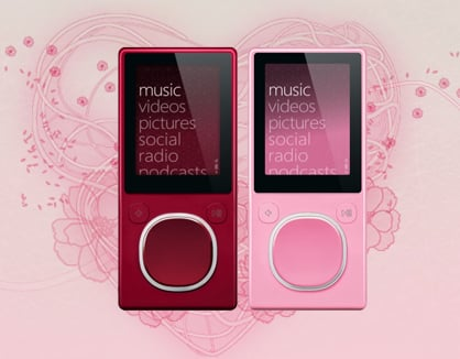 """Say """"I Love You"""" With A Valentine's Day Zune"""