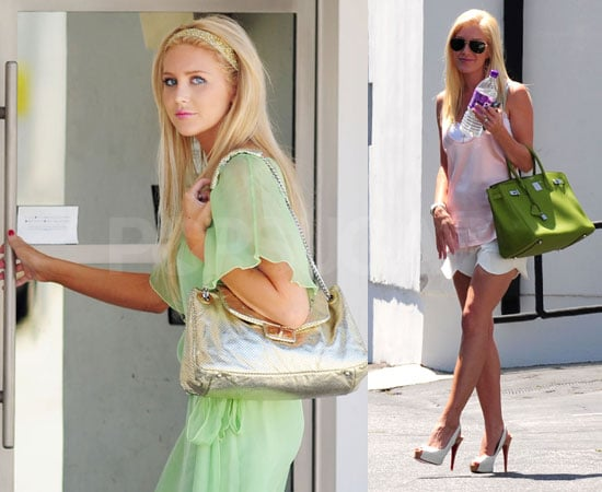 Photos of Heidi Montag and Stephanie Pratt Filming Scenes for The Hills in LA