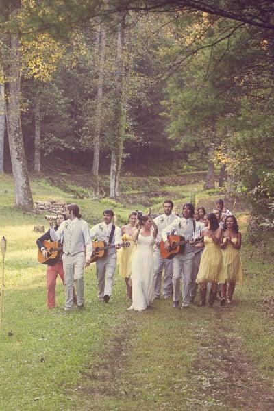 Bridal Party Parade