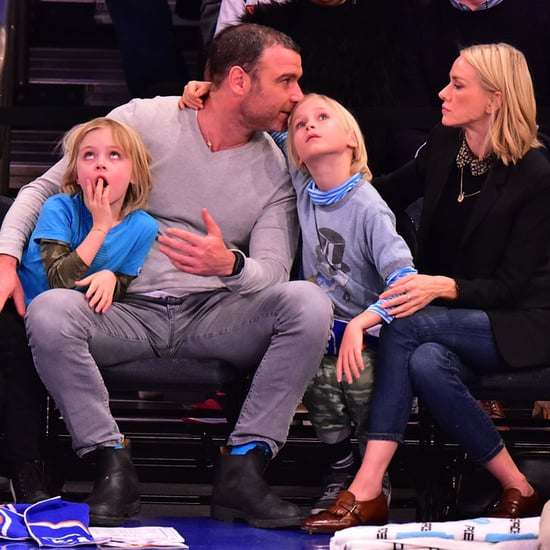 Naomi Watts and Liev Schreiber With Kids January 2016