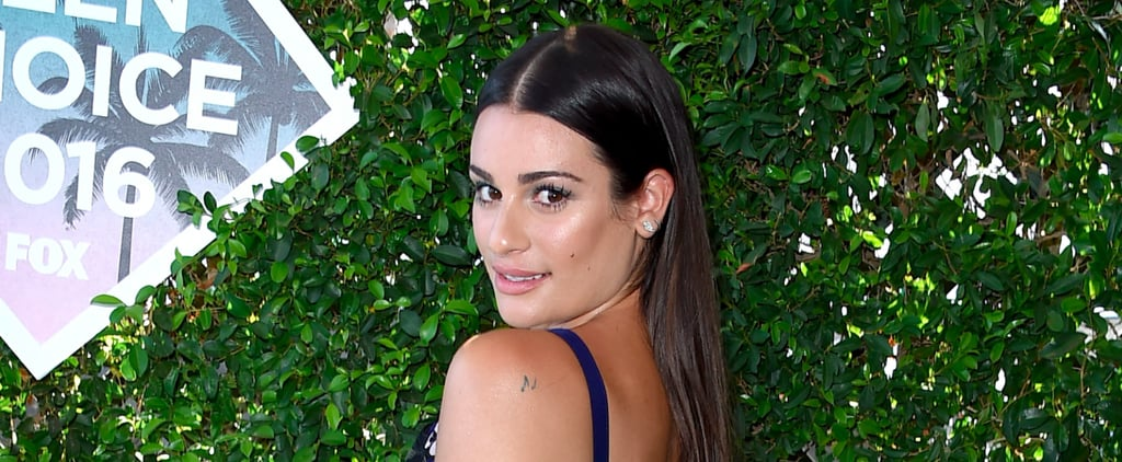 You'll Be Dazzled by Lea Michele's Luminous Glow at the Teen Choice Awards