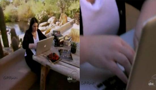 Stephenie Meyer Geeks Out With Her Mac on Oprah