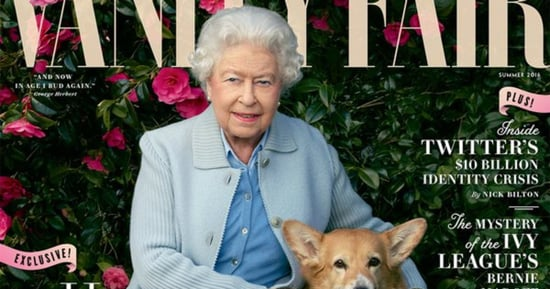 Queen Elizabeth II Is Covered in Corgis on Cover of 'Vanity Fair'