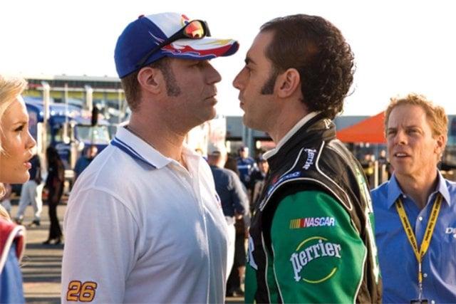 Will Ferrell and Sacha Baron Cohen, 2007