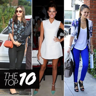 Top Ten Best Dressed Of The Week: Miranda Kerr, Gwyneth, Maria Sharapova And Laura Dundovic