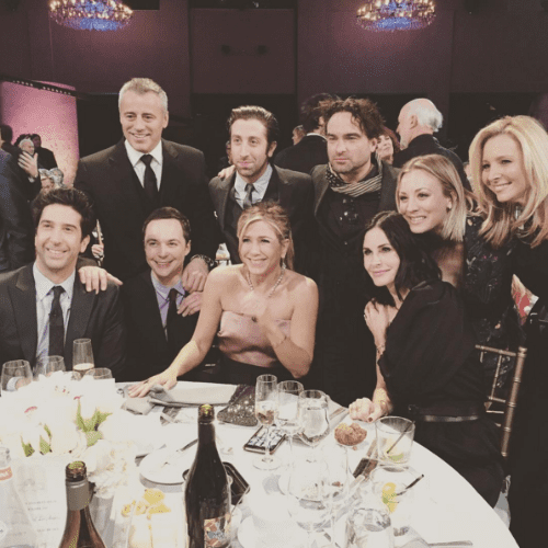Kaley Cuoco Shares Photo of Friends Reunion