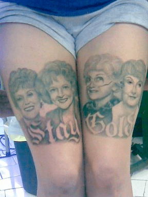 Oh Snap! Someone Loves the Golden Girls a Lot