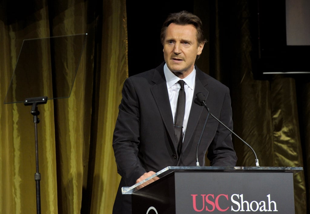 Liam Neeson also presented at the awards.