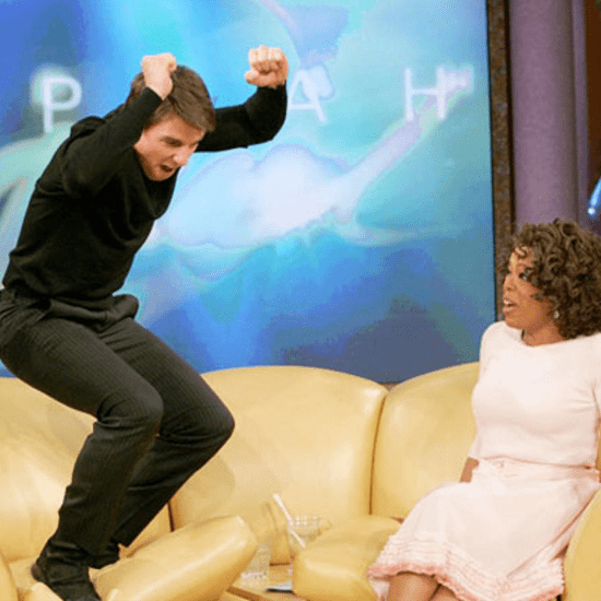 Tom Cruise Jumps On Oprah Winfrey's Couch | Video