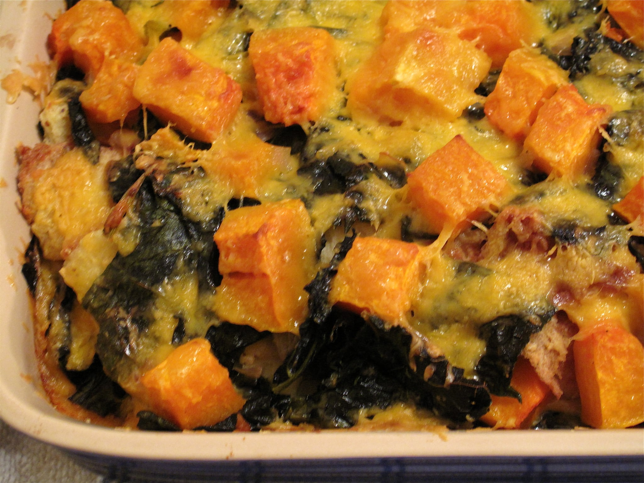 Photo Gallery: Butternut Squash and Cheddar Bread Pudding