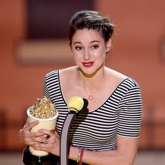 Shailene Woodley MTV Movie Awards Speech 2015