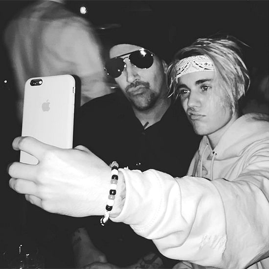Fast Friends? Justin Bieber Snaps Selfie with Marilyn Manson After Wearing Each Other's Tour Shirts