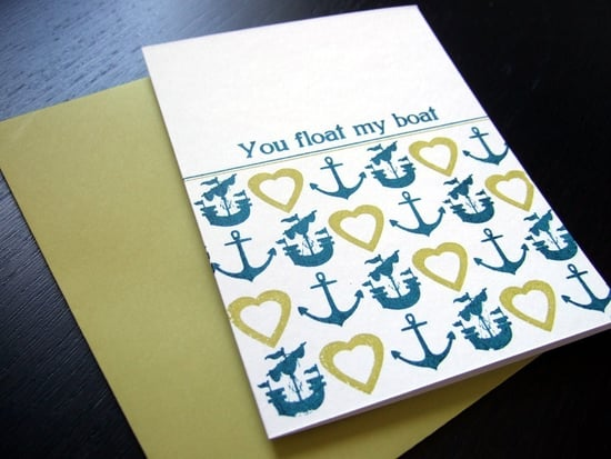 The Card Shop: You Float My Boat Card