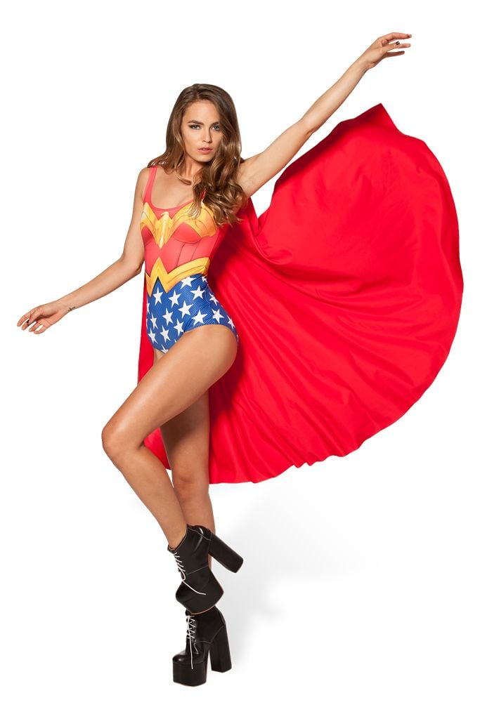 Wonder Woman Cape Suit ($100)