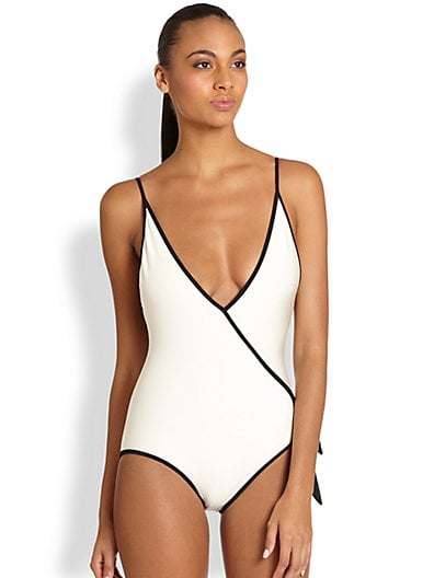 Marc by Marc Jacobs Plunging Swimsuit