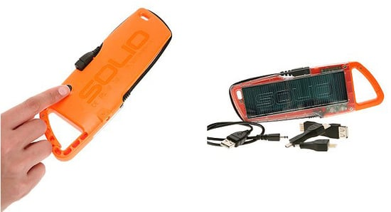 Nice and New: Solio Solar Charger