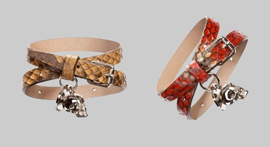 Fahion's Night Out Exclusive! Alexander McQueen's Wicked Wrap Bracelets