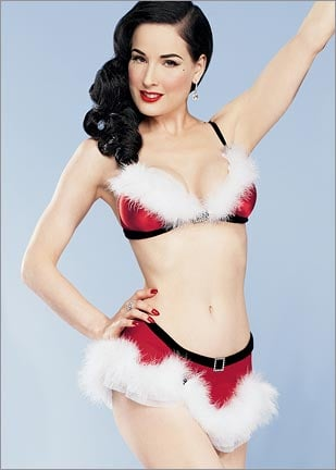 On Our Radar: Dita Von Teese Gets Dolled Up for Frederick's of Hollywood