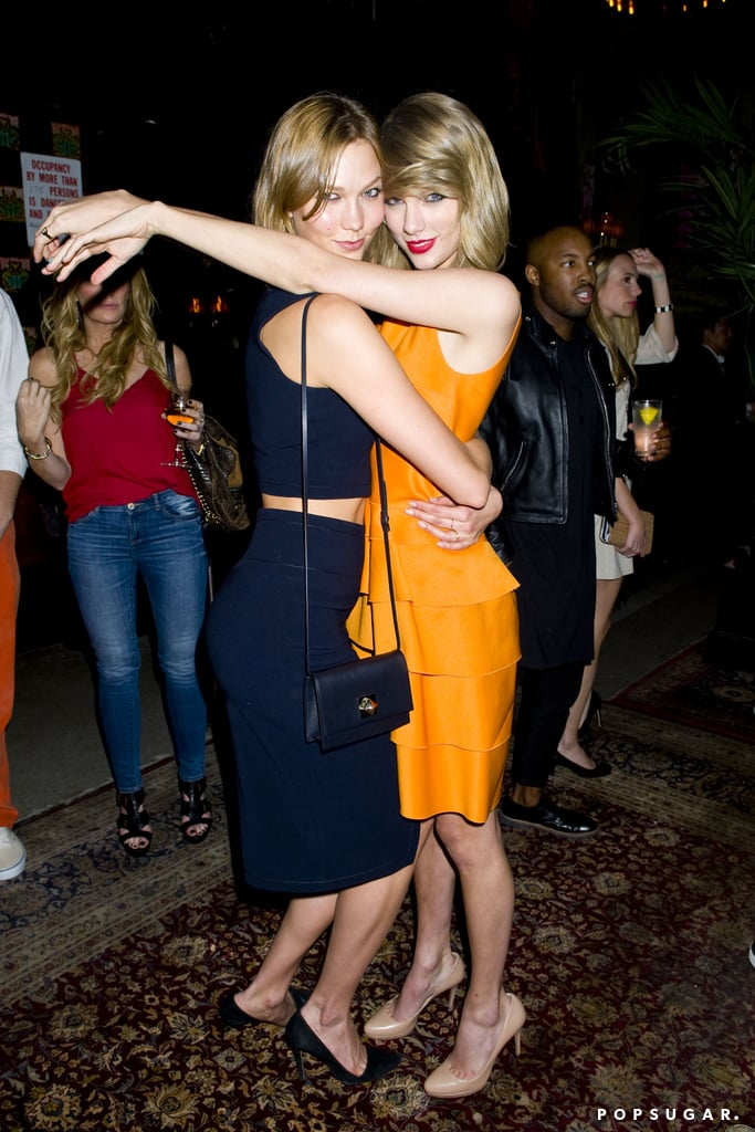 Taylor Swift and Karlie Kloss hammed it up.