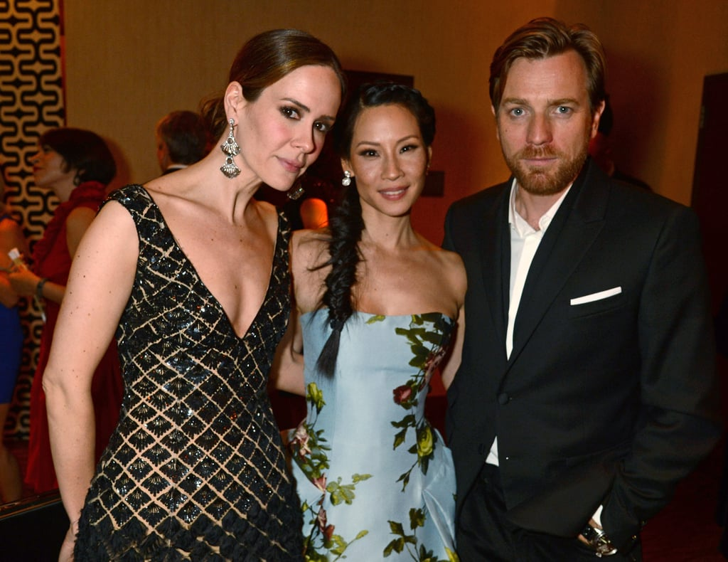 Julianne, Lena, Jon and More Meet Up at HBO's Globes After Party