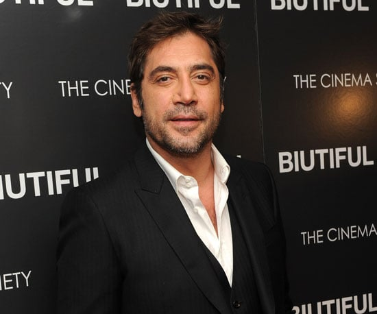 Slide Picture of Javier Bardem at the NYC Screening of Biutiful
