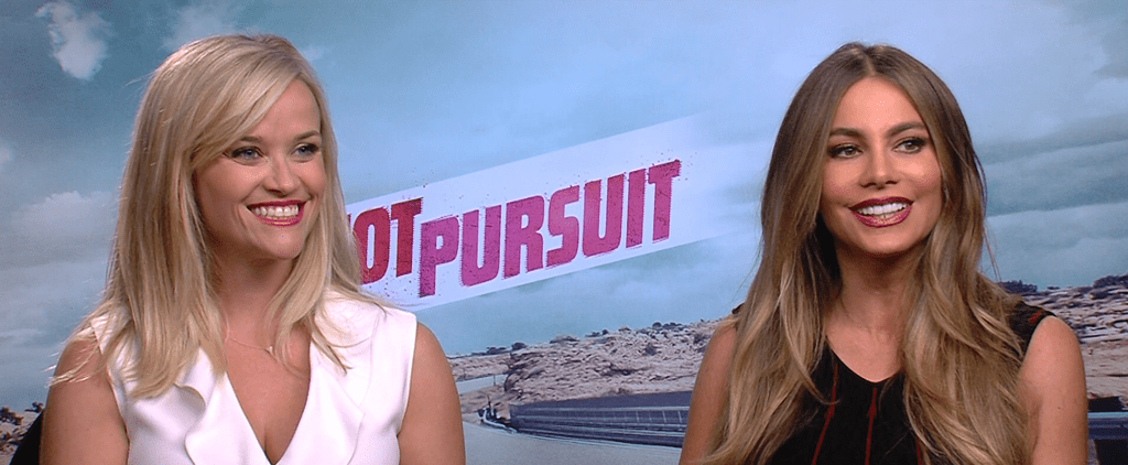 """Reese Witherspoon: Sofia Vergara Was """"Really Nervous"""" For Our Hot Pursuit Makeout Sesh"""