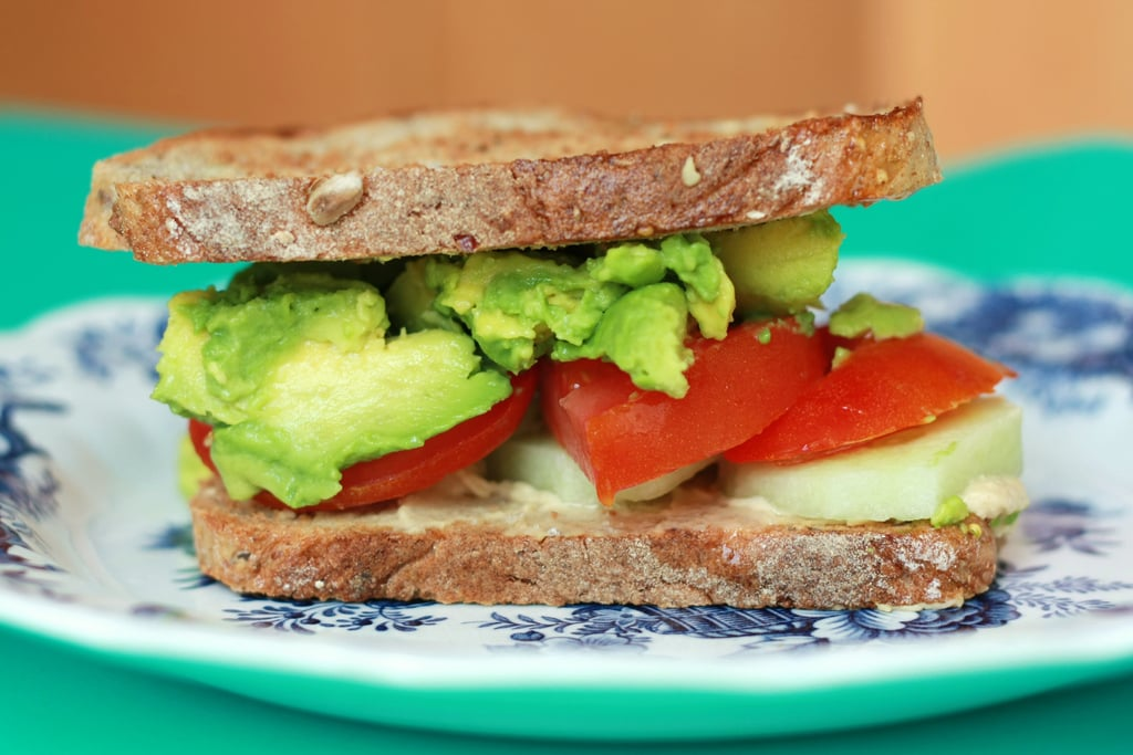 Hummus and Veggie Sandwich