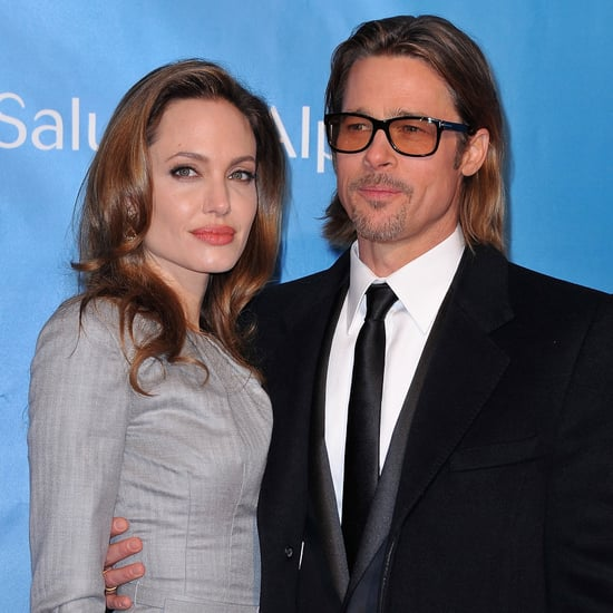 Angelina Jolie and Brad Pitt in Berlin Pictures